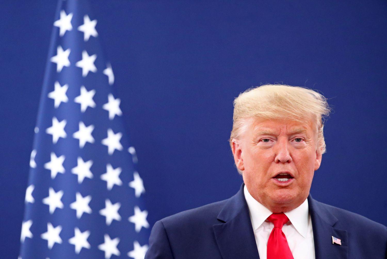 Trump, após seu discurso no Fórum de Davos na terça-feira.