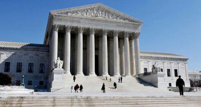 O Tribunal Supremo de EUA.