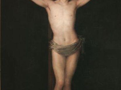 Francisco de Goya pintou o 'Cristo crucificado' em 1780 e apresentou-o para sua admissão na Real Academia de Bellas Artes de San Fernando.