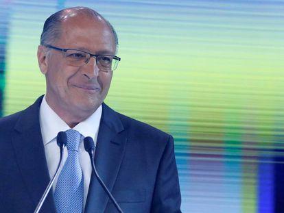 O ex-governador Geraldo Alckmin, no dia 30 de setembro.