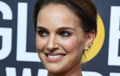 Natalie Portman, que fez uma crítica ao fato de todos os indicados ao Globo de Ouro serem homens.
