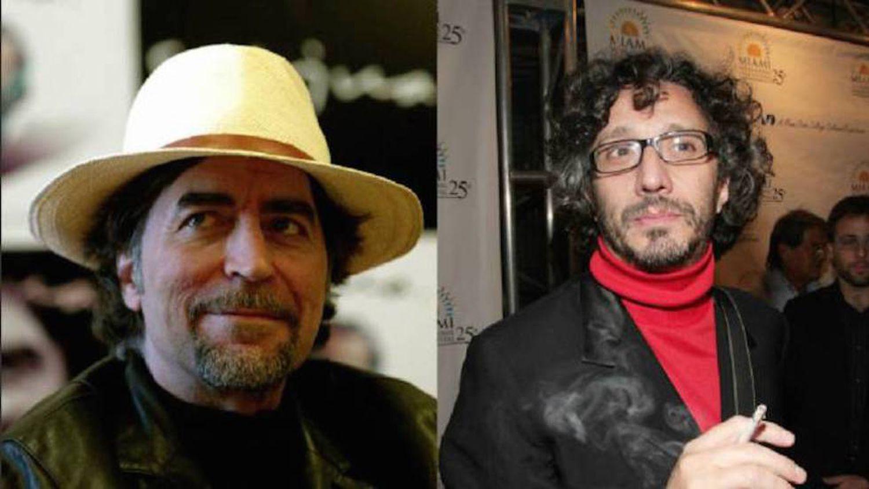 Fizeram um disco juntos e tudo foi pelos ares. Joaquín Sabina e Fito Páez, homens de caráter.