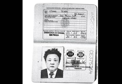 O passaporte de Jong Il foi emitido no nome de Ijong Tchoi.