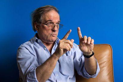 O historiador Daniel Aarão Reis, em junho de 2015, no Rio de Janeiro.
