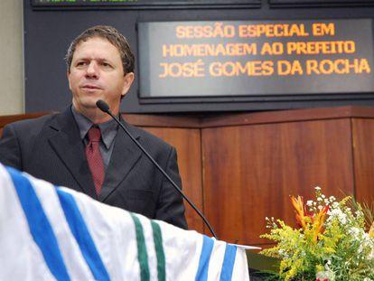 Zé Gomes, durante solenidade na Assembleia Legislativa.