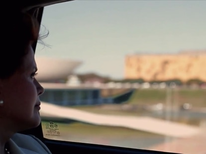 Cena de 'Democracia em vertigem', de Petra Costa, indicado ao Oscar 2020 de melhor documentário.