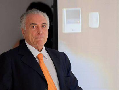 O presidente brasileiro Michel Temer na terça-feira