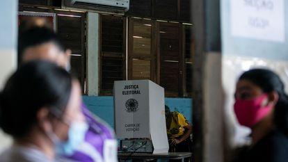 Local de votação em Macapá (AP) em novembro de 2020.