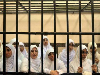 As mulheres condenadas, em Alexandria.