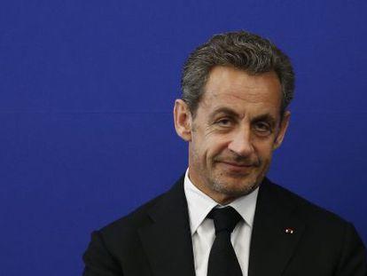 Nicolas Sarkozy, em uma foto de arquivo.