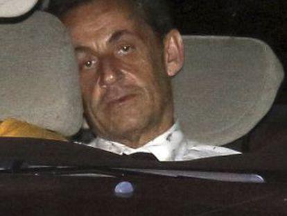 Nicolas Sarkozy em 1º de julho.