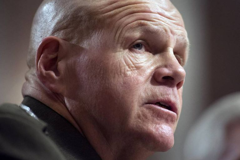 O comandante-geral dos marines, Robert Neller.