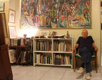 Maciej Babinski, no seu ateliê em Várzea Alegre.