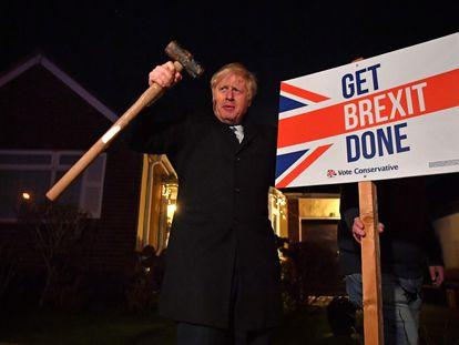 O premiê Boris Johnson promete concluir o Brexit, durante a campanha eleitoral de dezembro de 2019. Em vídeo, suas declarações desta quarta-feira no Parlamento britânico.