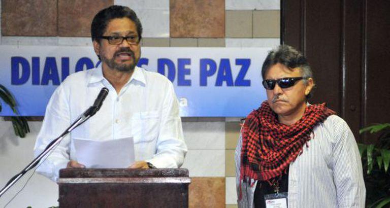 O chefe negociador da Colômbia com as FARC, em Havana.