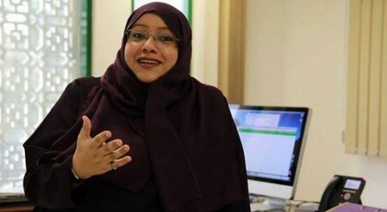 Somayya Jabarti, primeira mulher que dirigirá um jornal na Arábia Saudita.
