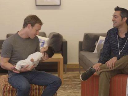 Mark Zuckerberg em conversa com usuários do Facebook por ocasião do 12º. aniversário da rede social.