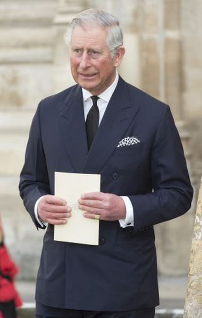 O príncipe Charles da Inglaterra.