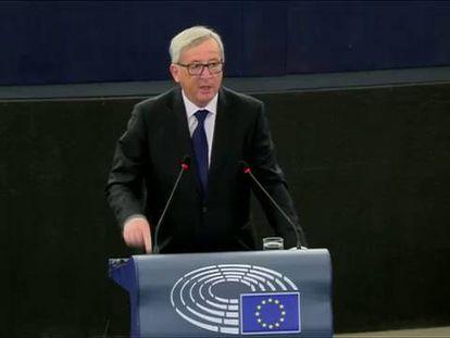 """Juncker: """"Falta Europa nesta União, e falta união nesta Europa"""""""