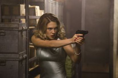 Léa Seydoux, como Madeleine Swann em 'Spectre'.