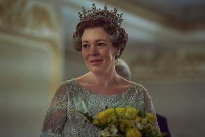 Olivia Colman na quarta temporada de 'The Crown'. A série tem seis candidaturas no Globo de Ouro 2021.