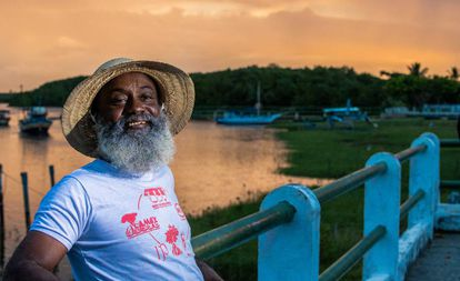 Pescador João Gonçalves vive em uma das oito comunidades tradicionais da Resex de Canavieiras.