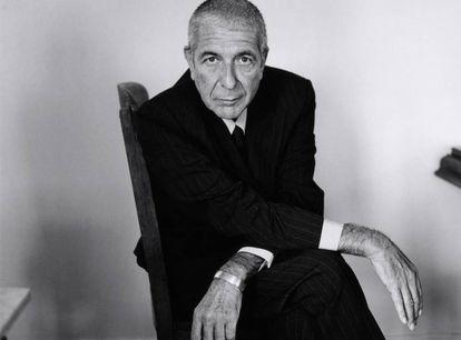 Leonard Cohen, em 2001.
