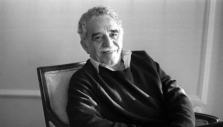Gabriel García Márquez em maio de 1996