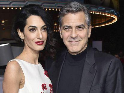 George e Amal Clooney, pais de gêmeos