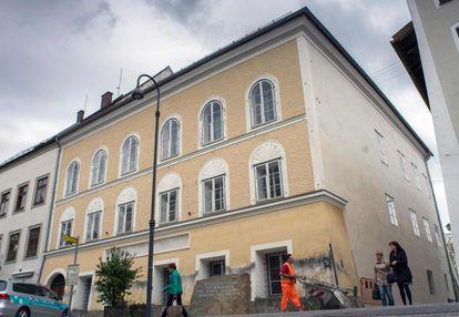 A casa onde Hitler nasceu, em imagem de 2015.