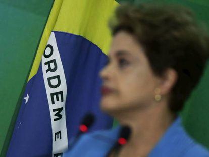 A presidenta Dilma Rousseff nesta segunda.
