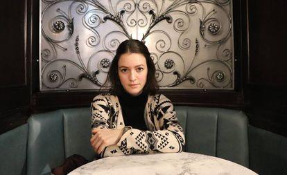 A investigadora austríaca Julia Ebner, em Londres