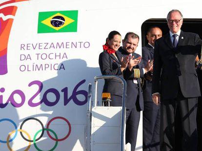 "Dilma acende tocha olímpica: ""O Brasil está pronto para os Jogos"""