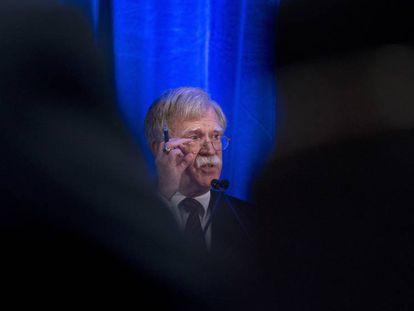 John Bolton, conselheiro de Segurança Nacional da Casa Branca
