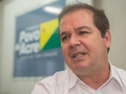 O governador e candidato à reeleição, Tião Viana (PT).