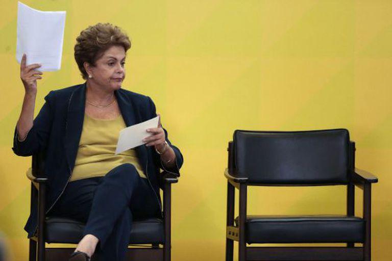 Presidenta Dilma Rousseff em apresentação do programa Bem Mais Simples Brasil