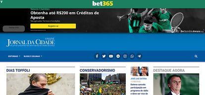 Jornal da Cidade Online recorre a novo sistema de anúncios após bloqueios no Google.