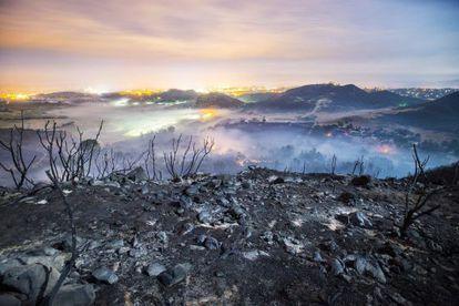 O aquecimento e as mudanças no uso do solo aumentarão o risco de grandes incêndios florestais como o da semana passada na Califórnia.