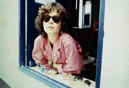 Ana Cristina César em 1982.