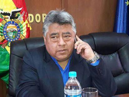 O vice-ministro do Regime Interior, Rodolfo Illanes.