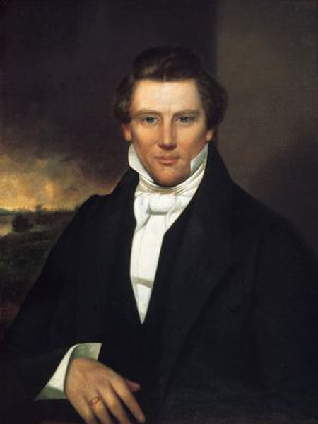 Retrato de Joseph Smith na National Gallery of Art de Washington.