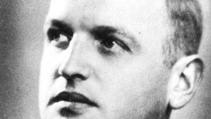 Fotografia do cientista nazista Max Clara.