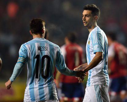 Messi e Pastore, protagonistas.