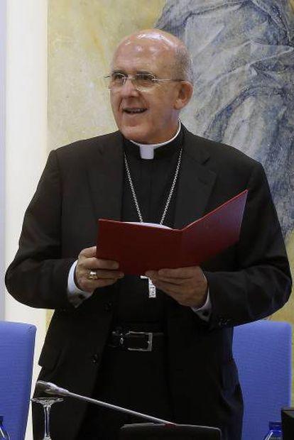 O arcebispo de Madri, Carlos Osoro Sierra, novo cardeal