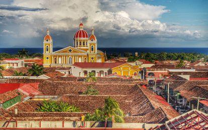 """Fundada em 1524, Granada é considerada a primeira cidade """"europeia"""" em terra firme do continente americano."""