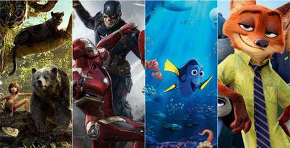 Alguns dos sucessos de Disney neste ano