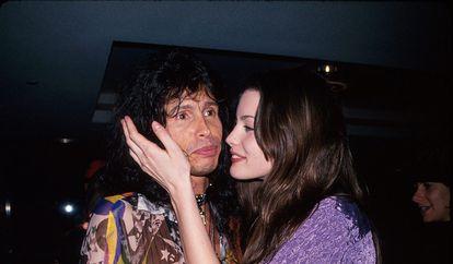Steven Tyler e Liv Tyler em uma imagem de arquivo.