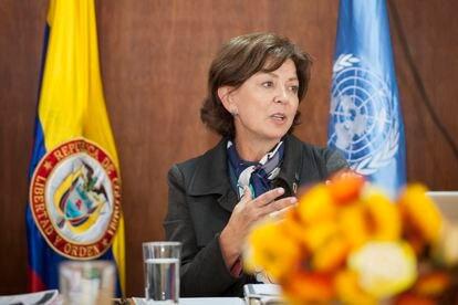 Ana Güezmes, representante na Colômbia da ONU Mulheres.