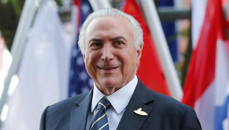 Temer durante encontro do G20, na Alemanha.