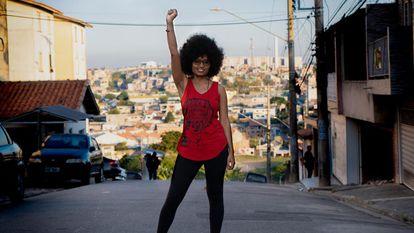 Tamires Sampaio, candidata a vereadora de São Paulo pelo PT.